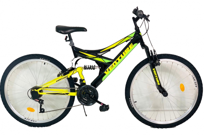Bicicleta Mtb Venture 2640 M Negru 26 Inch 0