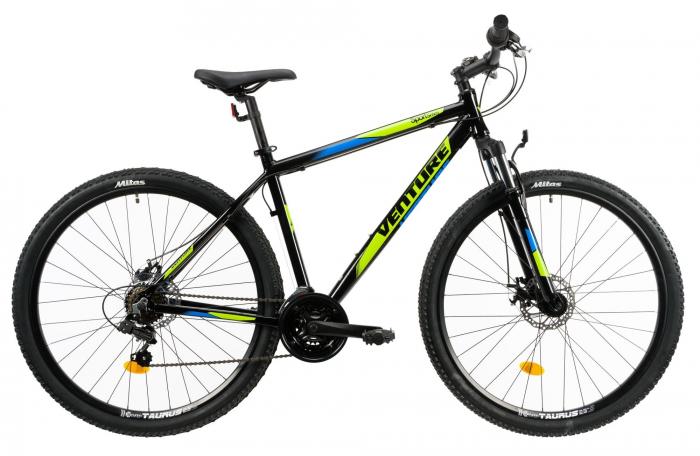 Bicicleta Mtb Venture 2921 L Negru 29 Inch 0