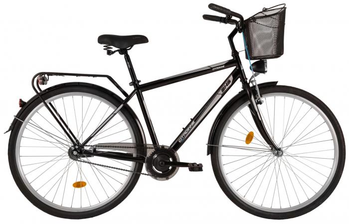 Bicicleta Oras Citadinne 2831 520Mm Negru 28 Inch 0