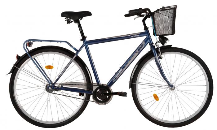 Bicicleta Oras Citadinne 2831 520Mm Negru 28 Inch 1