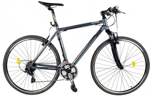Bicicleta Oras Contura 2865 L 530Mm Gri/Rosu 28 Inch 1