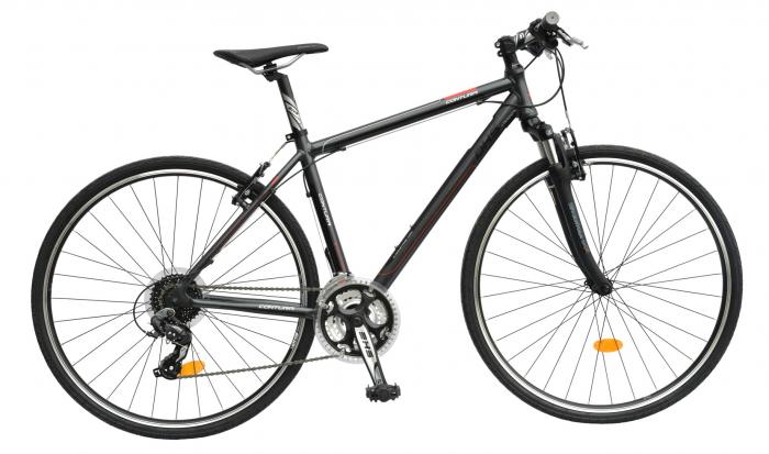Bicicleta Oras Contura 2865 L 530Mm Gri/Rosu 28 Inch 0
