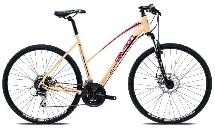 Bicicleta Oras Devron Cross Lk2.8 L Fiery Red 28 Inch 1