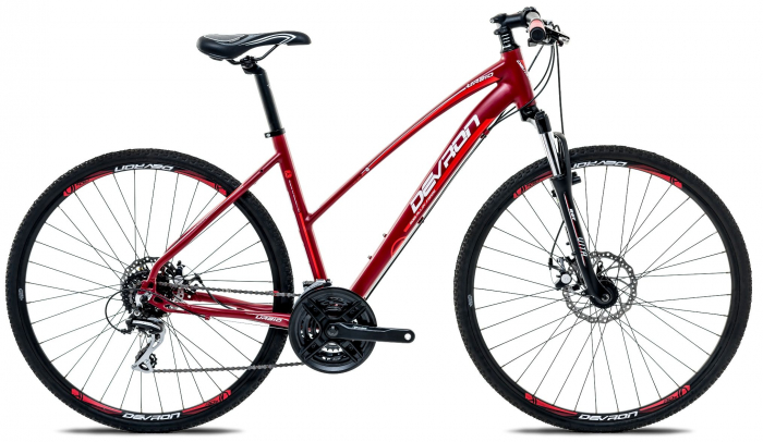 Bicicleta Oras Devron Cross Lk2.8 L Fiery Red 28 Inch 0