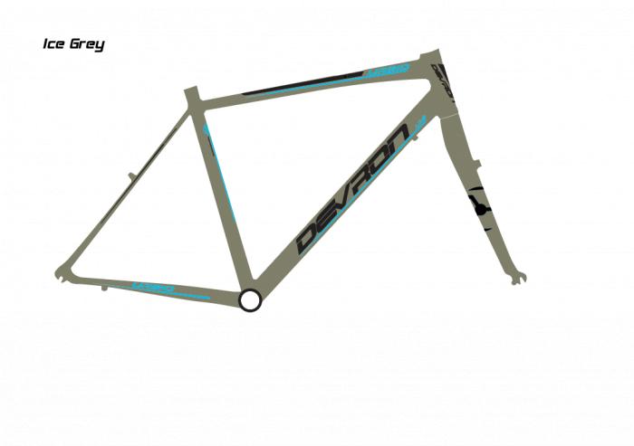 Bicicleta Oras Devron Urban Men U1.8 Ice Grey, M - 52028 Inch 2
