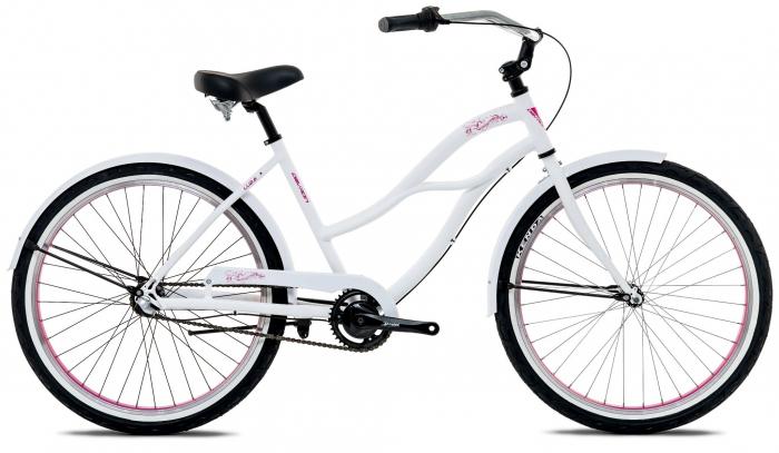 Bicicleta Oras Devron Urbio Lu2.6 Ice White M 26 Inch 0