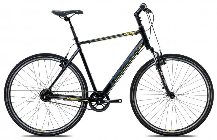 Bicicleta Oras Devron Urbio U2.8 M 533Mm Fiere Black 28 Inch 0