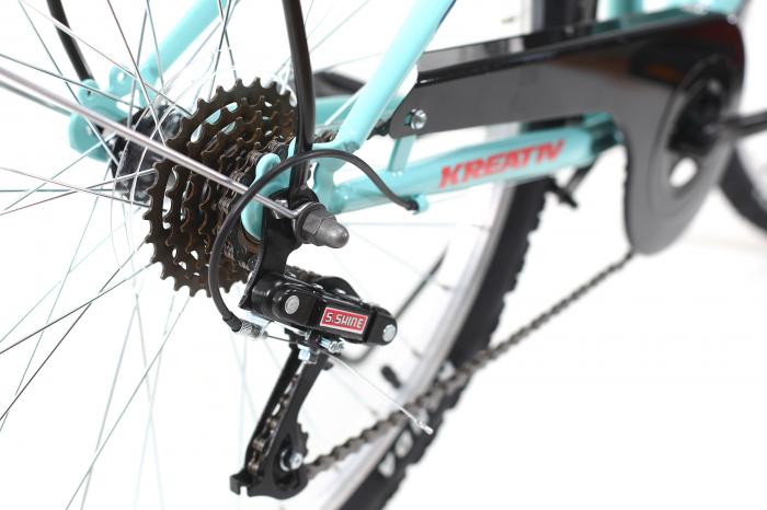 Bicicleta Oras Dhs 2614 M Turcoaz 26 Inch 2