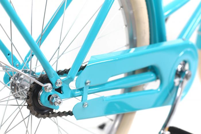 Bicicleta Oras Dhs 2632 Citadinne M Verde Deschis 26 Inch [3]