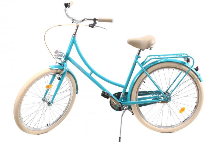Bicicleta Oras Dhs 2632 Citadinne M Verde Deschis 26 Inch 9