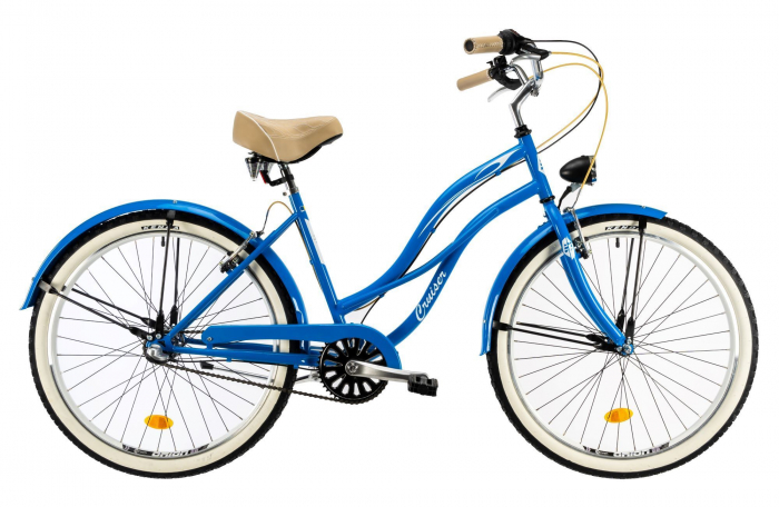 Bicicleta Oras Dhs 2698 M Violet 26 Inch 1
