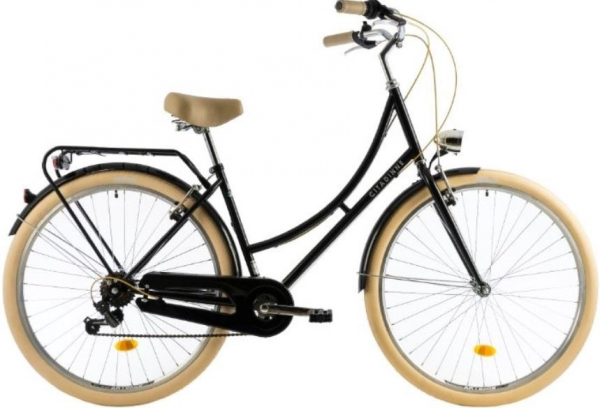 Bicicleta Oras Dhs Citadinne 2634 460Mm Verde Light 26 Inch 1