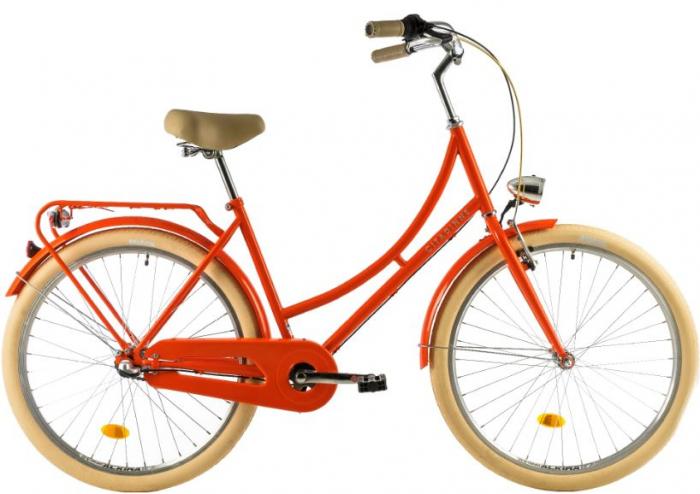 Bicicleta Oras Dhs Citadinne 2634 460Mm Verde Light 26 Inch 2