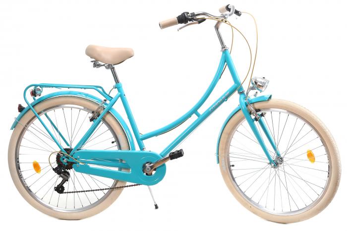 Bicicleta Oras Dhs Citadinne 2634 M Verde Light 26 Inch 2