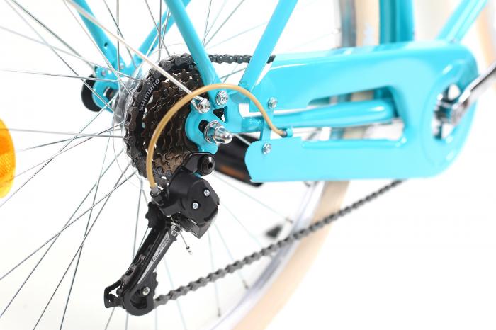 Bicicleta Oras Dhs Citadinne 2634 M Verde Light 26 Inch 8
