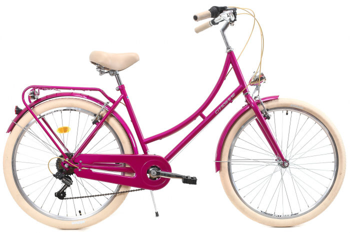 Bicicleta Oras Dhs Citadinne 2634 M Verde Light 26 Inch 1