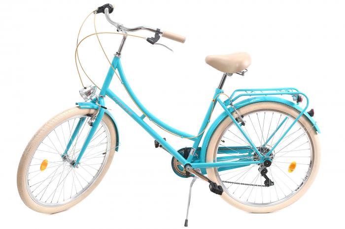 Bicicleta Oras Dhs Citadinne 2634 M Verde Light 26 Inch 11