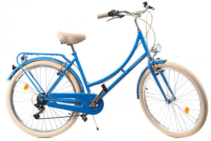 Bicicleta Oras Dhs Citadinne 2634 M Verde Light 26 Inch 0
