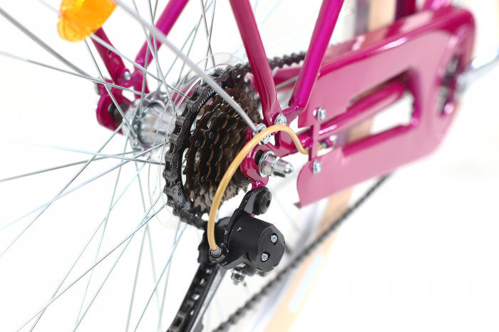 Bicicleta Oras Dhs Citadinne 2634 M Verde Light 26 Inch 3