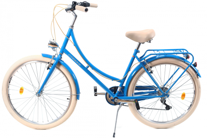 Bicicleta Oras Dhs Citadinne 2634 M Verde Light 26 Inch 12