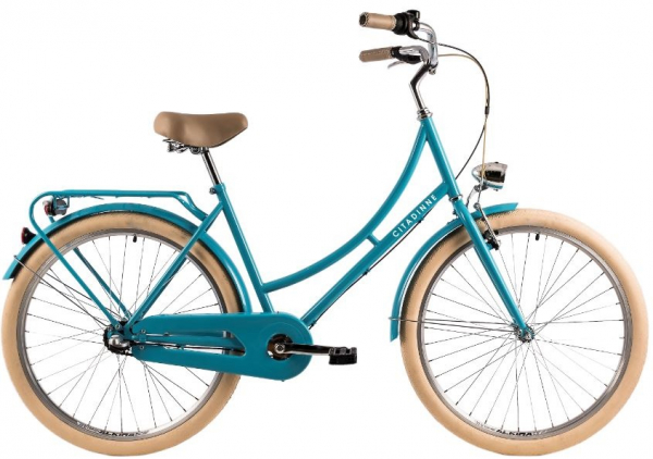 Bicicleta Oras Dhs Citadinne 2636 460Mm Verde Light 26 Inch 0