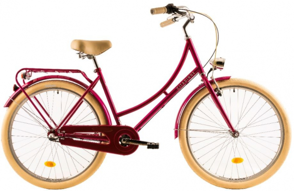 Bicicleta Oras Dhs Citadinne 2636 460Mm Verde Light 26 Inch 4