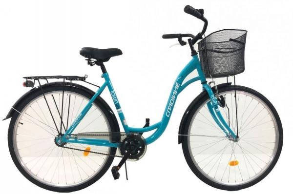 Bicicleta Oras Dhs Citadinne 2830 Xl Verde/Albastru 28 Inch 0