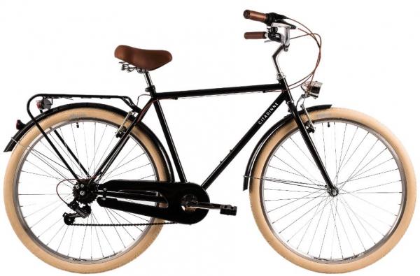 Bicicleta Oras Dhs Citadinne 2833 530Mm Negru 28 Inch 0