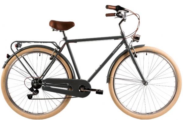 Bicicleta Oras Dhs Citadinne 2833 530Mm Negru 28 Inch 1