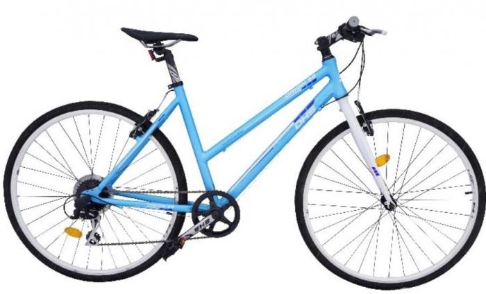 Bicicleta Oras Dhs Origin 2896 L Albastru 28 Inch 0