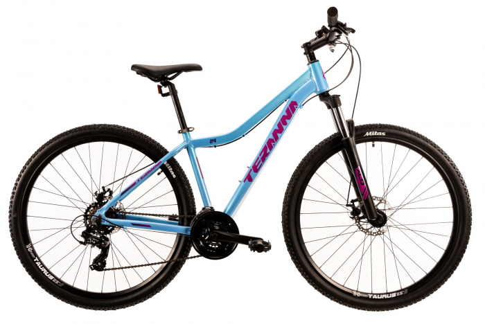 Bicicleta Mtb Dhs Terrana 2924 M Albastru 29 Inch 0