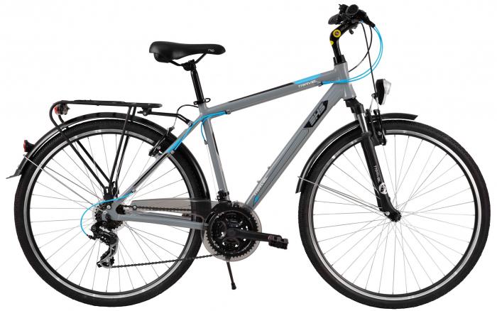 Bicicleta Oras Dhs Travel 2855 L Gri 28 Inch 0