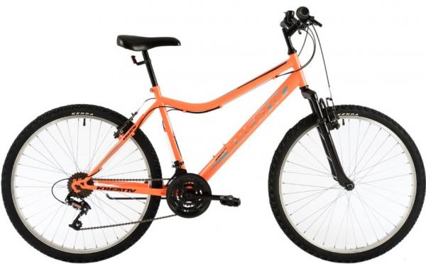 Bicicleta Oras Kreativ 2604 M Portocaliu/Negru 26 Inch 0