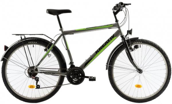 Bicicleta Oras Kreativ 2613 M Gri/Verde 26 Inch 0