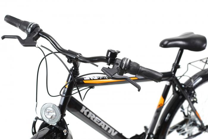 Bicicleta Oras Kreativ 2613 Negru M 26 Inch 3