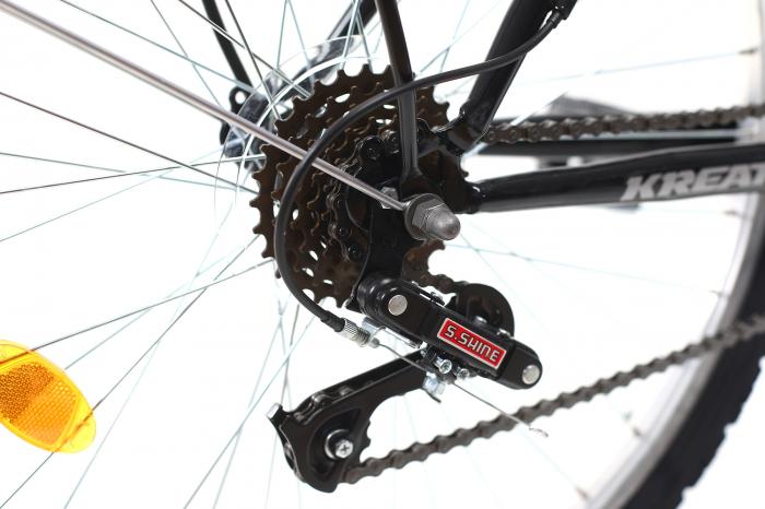 Bicicleta Oras Kreativ 2613 Negru M 26 Inch 2