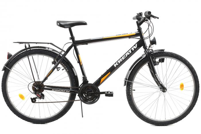 Bicicleta Oras Kreativ 2613 Negru M 26 Inch 0