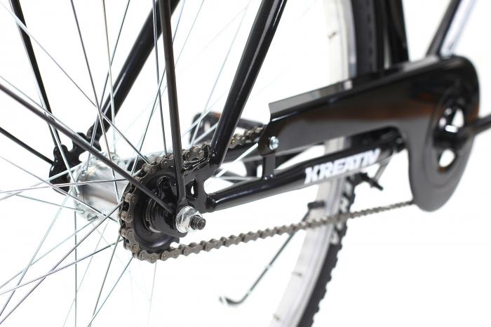 Bicicleta Oras Kreativ 2811 L Argintiu 28 Inch [10]