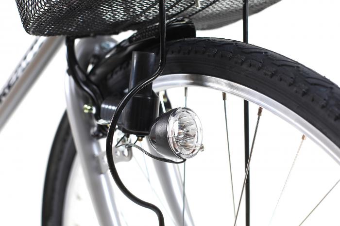 Bicicleta Oras Kreativ 2811 L Argintiu 28 Inch [5]