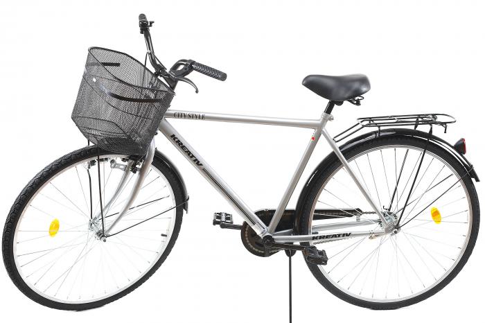 Bicicleta Oras Kreativ 2811 L Argintiu 28 Inch [6]