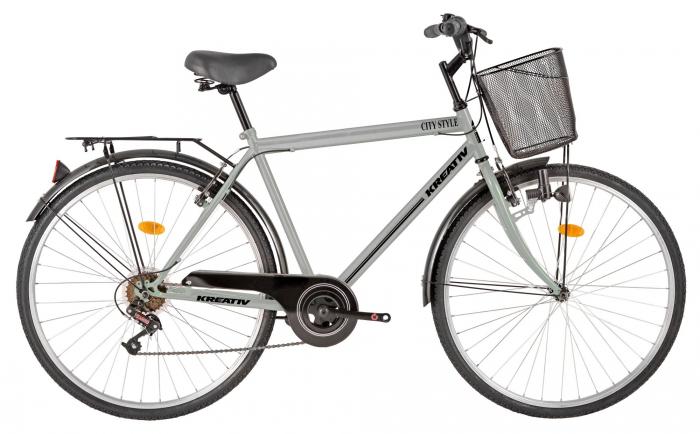 Bicicleta Oras Kreativ 2813 L Negru 28 Inch 1