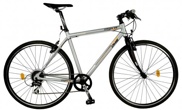 Bicicleta Oras Origin 2895 L 530Mm Argintiu 28 Inch 0