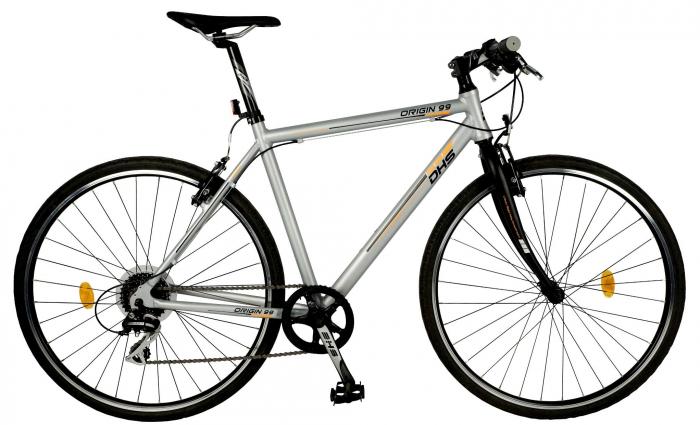 Bicicleta Oras Origin 2895 L 530Mm Argintiu 28 Inch 2