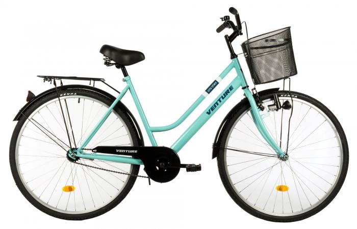 Bicicleta Oras Venture 2818 L Verde Light 28 Inch 0