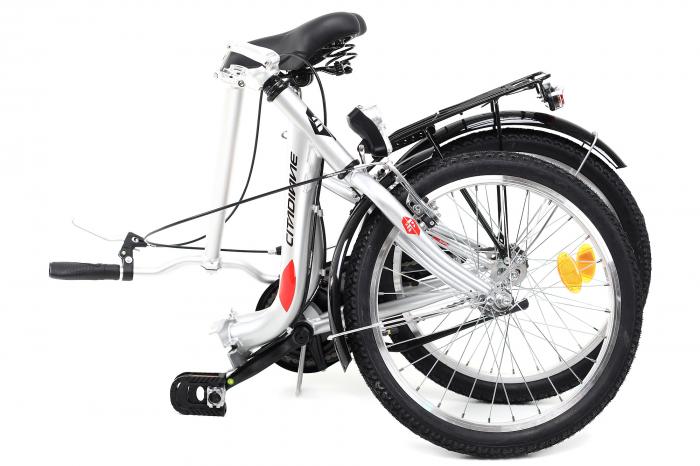 Bicicleta Pliabila Dhs 2092 Gri 20 Inch 11