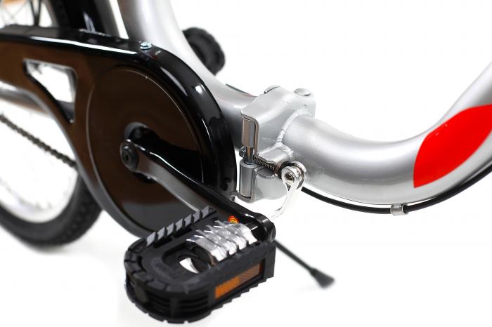 Bicicleta Pliabila Dhs 2092 Gri 20 Inch 9