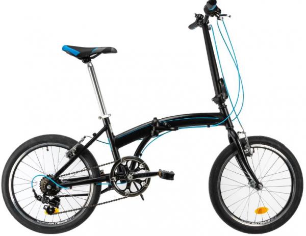 Bicicleta Pliabila Dhs 2095 Gri 20 Inch 1
