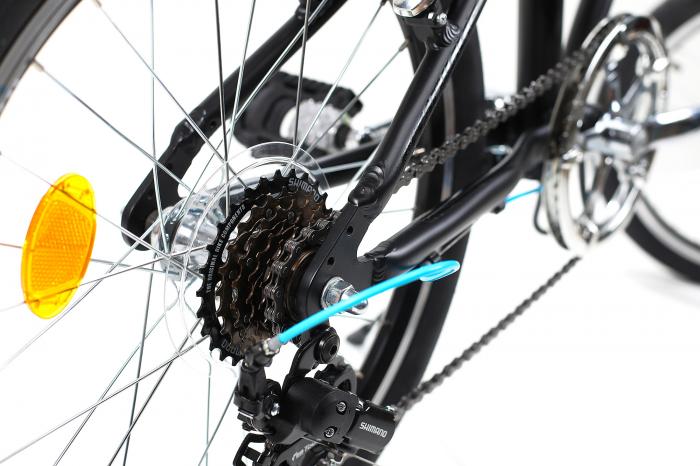 Bicicleta Pliabila Dhs 2095 Gri 20 Inch 3