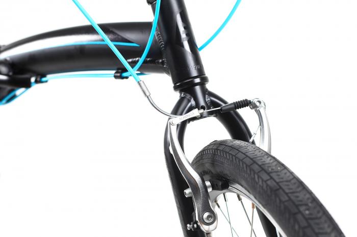Bicicleta Pliabila Dhs 2095 Gri 20 Inch 5