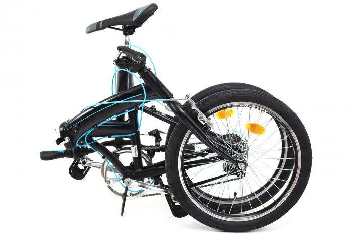 Bicicleta Pliabila Dhs 2095 Gri 20 Inch 2